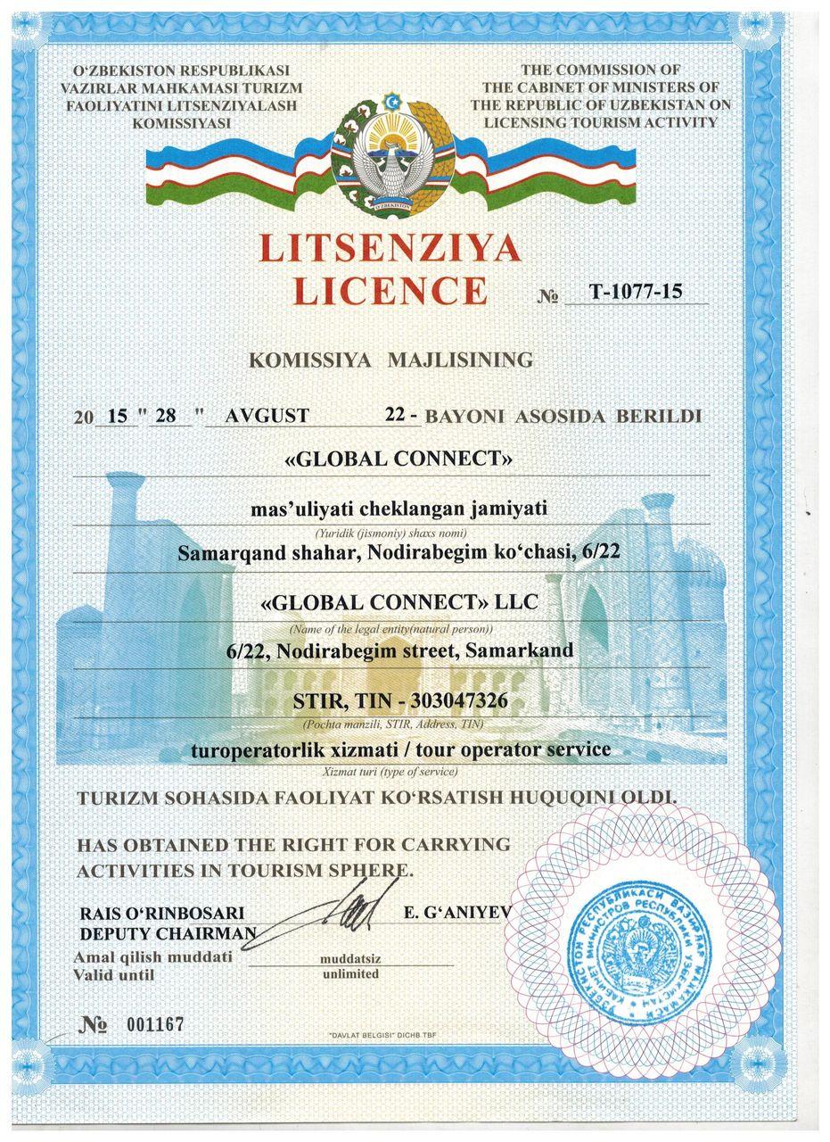Best travel agency in Uzbekistan
