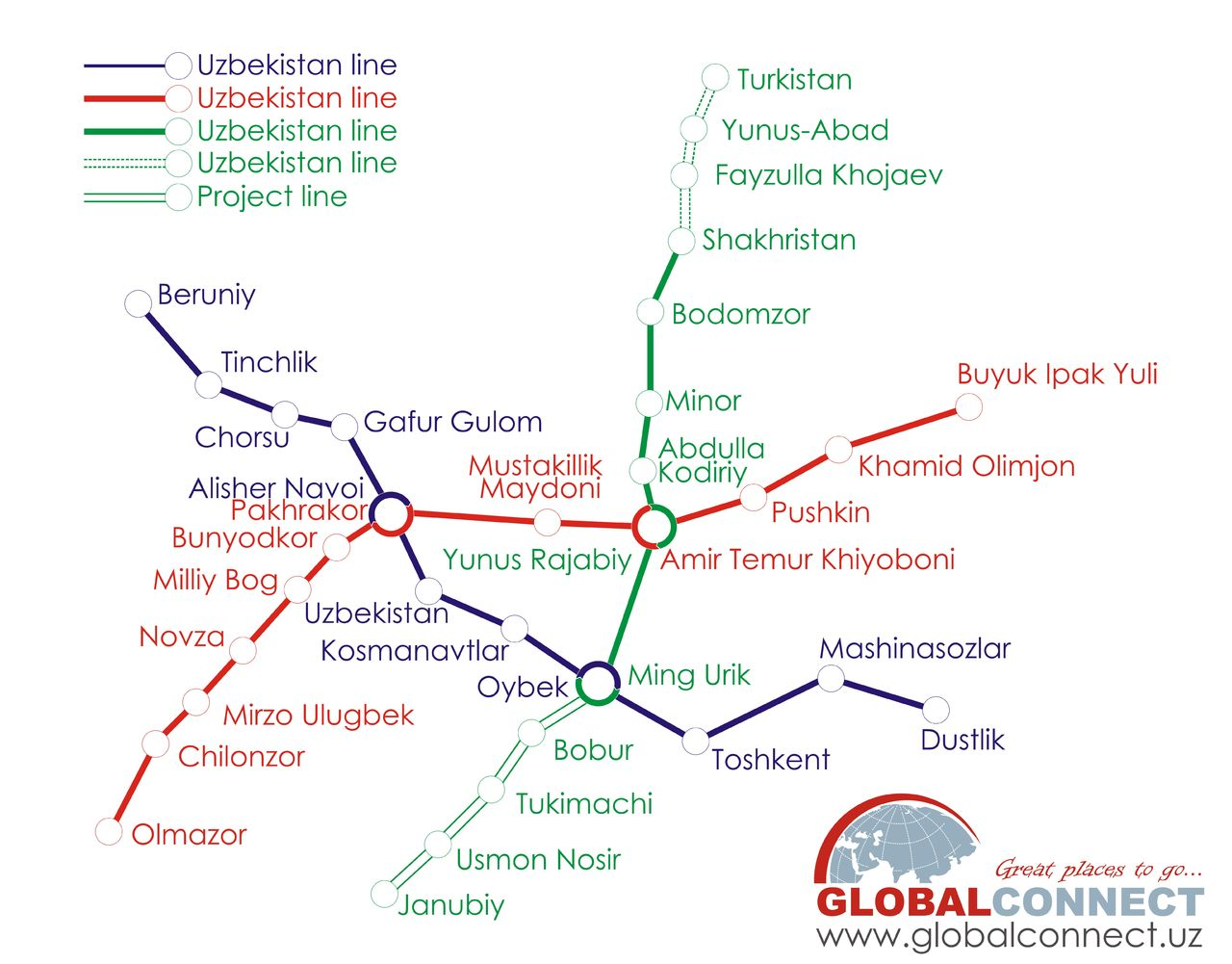 Tashkent Metro - Wikipedia