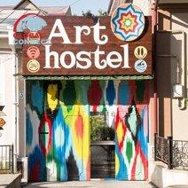 art hostel in tashkent
