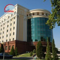 Registon Plaza hotel in Samarkand