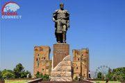 Amir Timur Statue, Shakhrisabz