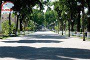 Tashkent Broadway Street