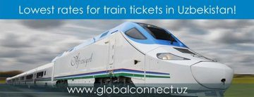 Lowest rates for train tickets in Uzbekistan