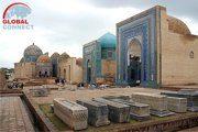 Shakhi Zinda Necropolis in Samarkand