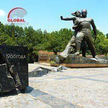Monument of Courage in Tashkent