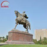 Amir Timur Square in Tashkent